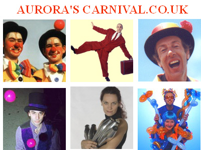 Aurora's Carnival agency for circus and other performers around the country