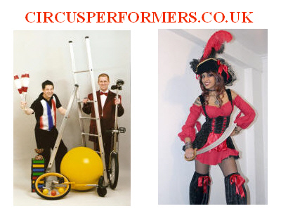 circus performers website for entetainers around the country